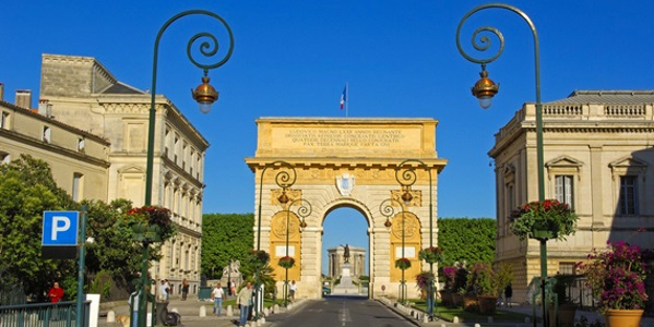 Triumphal Arch Montpellier Herault Languedoc-Roussillon France